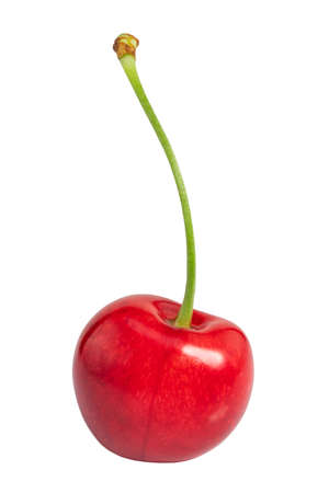 cherry isolated on white background.