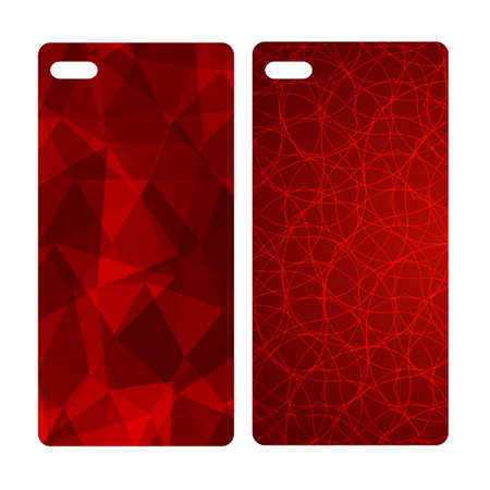 Abstract blur bright red background for mobile phone cover