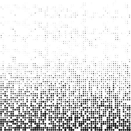 A black and white halftone background with plenty of copy space in vector format. Imagens