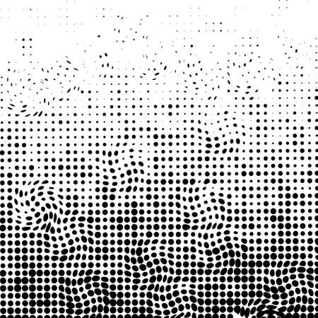 Abstract dotted background. vector pattern. Halftone effect illustration