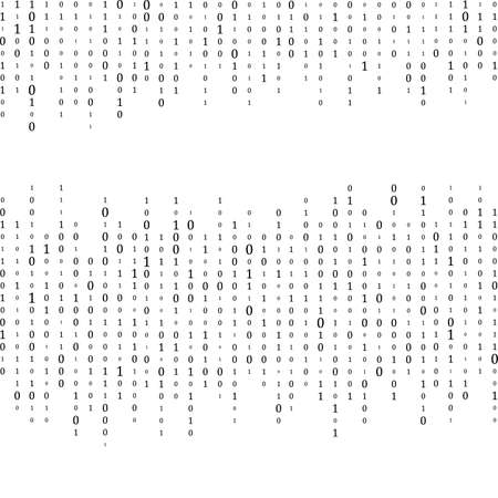 Abstract Matrix Background. Binary Computer Code. Coding. Hacker concept. Vector Background Illustration Иллюстрация