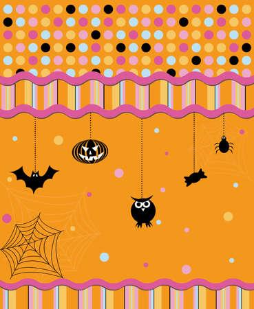 spidery: Halloween card