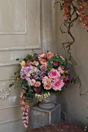 flower arrangement: Flower Arrangement in room