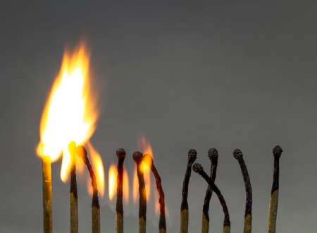 riskiness: Burning matches