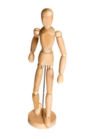layman: Wooden puppet toy