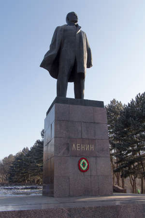 Monument to Lenin  Russia, Pyatigorsk  Caucasus