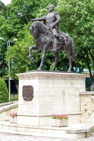 petrovich: Pyatigorsk, Russia - June 1, 2014: Monument to General Aleksey Petrovich Yermolov (Ermolov) in Pyatigorsk (Russia).