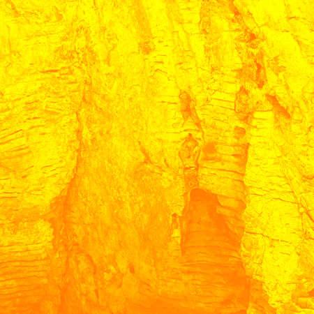Stream of the heated lava  stylization , background photo