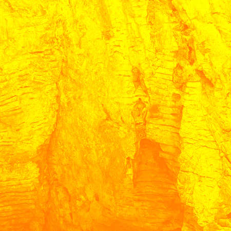 scorched: Stream of the heated lava  stylization , background Stock Photo