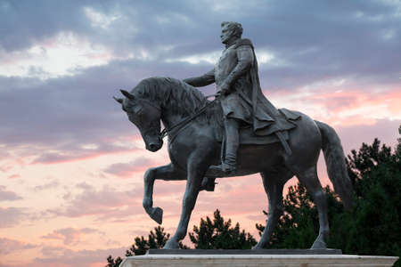 petrovich: Pyatigorsk, Russia, monument to the Russian Imperial general Yermolov, who commanded Russian troops in the Caucasus War of the 18th century Editorial