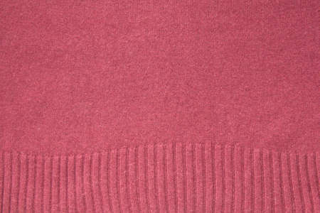 woolen: Red woolen cloth close up, background Stock Photo