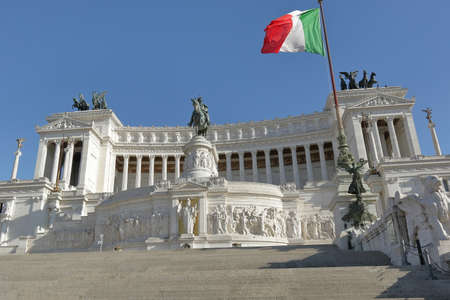 altar of fatherland: Altar of the Fatherland, also known as National Monument to Victor Emmanuel II Monumento a Vittorio Emanuele II in Rome, Italy