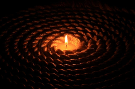 Candle and Rope