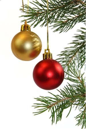 Palle di Natale Archivio Fotografico
