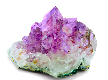 crystal  purple amethyst