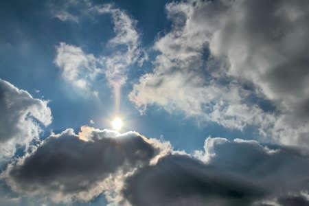 Cloudscape as  Background