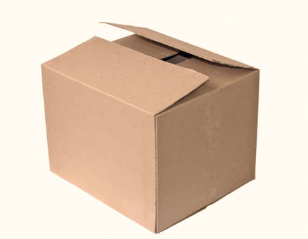 box carton isolated photo