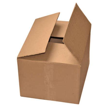 cardboard isolated photo
