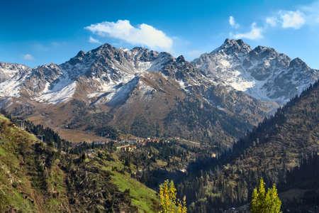 Mountain landscape Stock Photo - 12145066