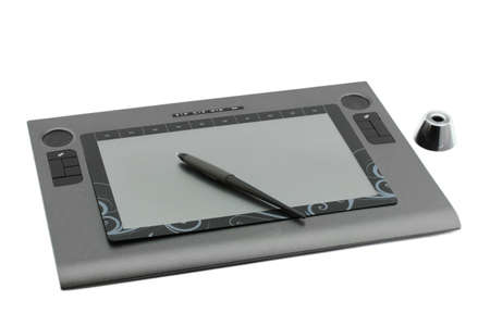 tablet for drawing Stock Photo