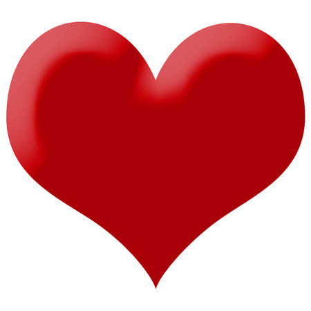 dessin coeur: heart illustration isolé Banque d'images