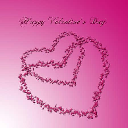 hearts  as background illustration illustration