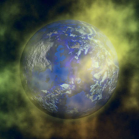 planet illustration illustration