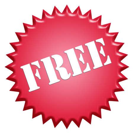 free offer: Tampon stamp «Free»