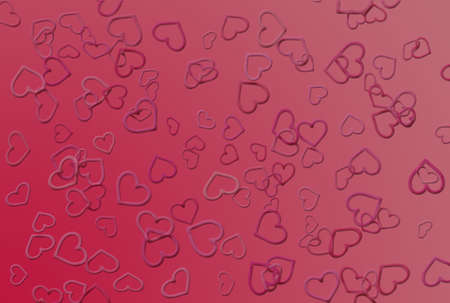 hearts as background for Valentine day     photo