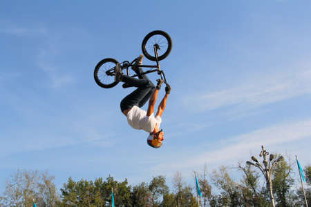 bicycles bmx Stock Photo