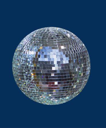 disco ball lucido, sfera Archivio Fotografico