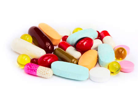 capsules: pills vitamin supplement