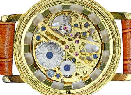 mechanism  old watch
