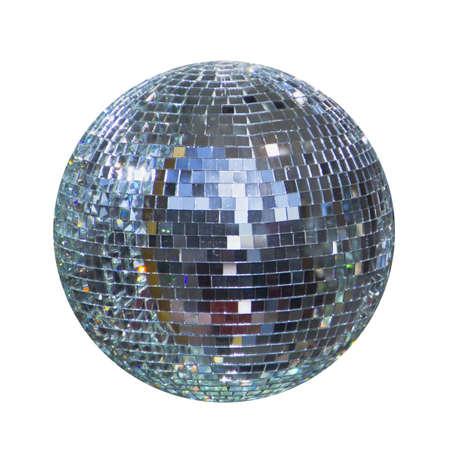 discoteca palla lucido, sfera Archivio Fotografico
