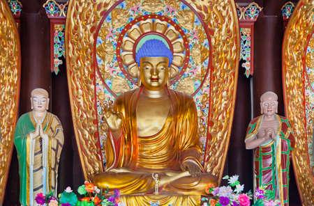 buddismo statua, Nanshan, Cina, Sanya