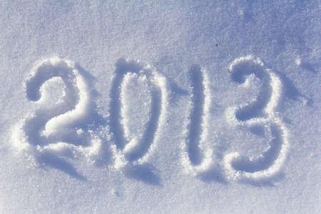 Happy New Year 2013 background photo