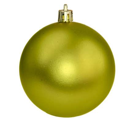 Christmas yellow  ball