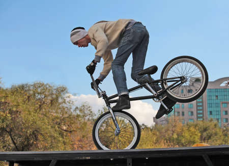 cycling bicycle cycling BMX Stock Photo
