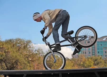 cycling bicycle cycling BMX Stock Photo