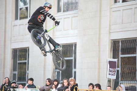 BMX cycling extreme