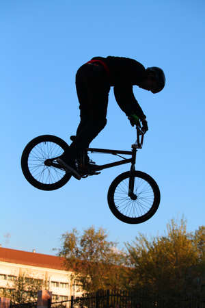 bicycle, cycling, extreme photo
