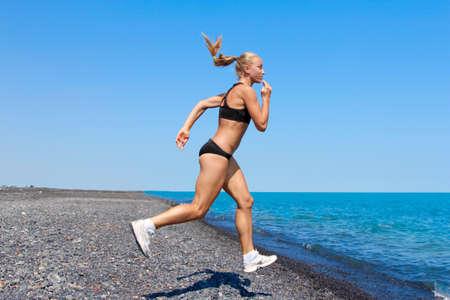 donne jogging, corsa Archivio Fotografico