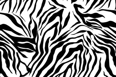 zebra textured  striped