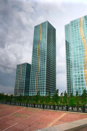 astana: building skyscraper Astana Kazakhstan