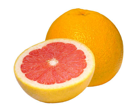grapefruit closeup photo