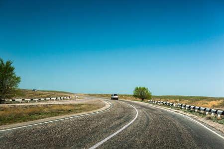 dividing: road  dividing line