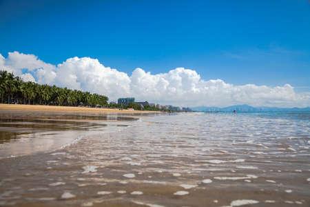 mare spiaggia acqua paesaggio Hainan in Cina