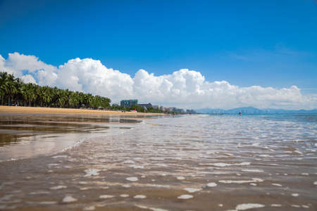sea beach  water landscape Hainan China