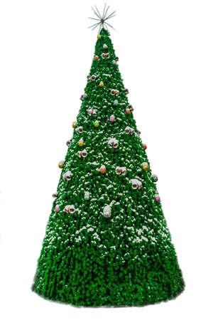 christmas  decoration tree outdoors Stock Photo