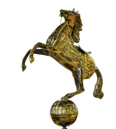 iron horse figurine photo